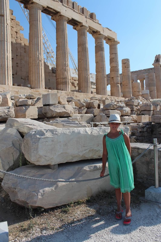 Athens:  Plan a perfect family trip to Athens! www.mytravelingkids.com