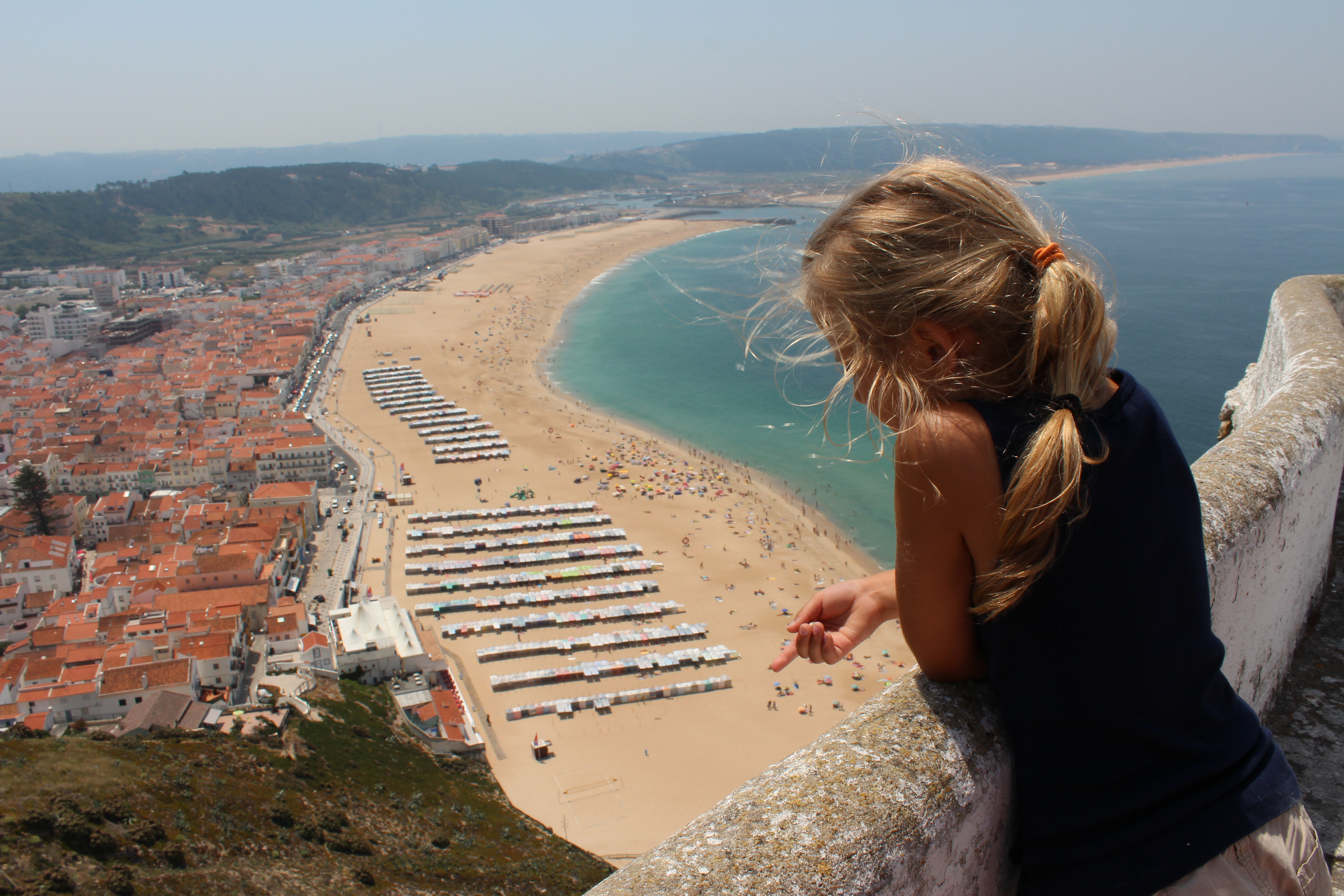 Planning an amazing day trip to Nazare, Portugal.
